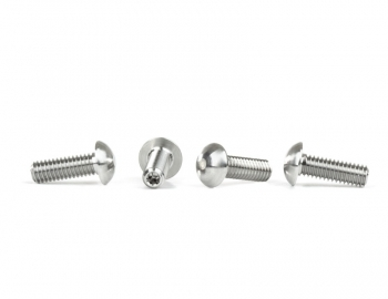 Titanium Domed Droop Screws | 8th Scale | 4pcs