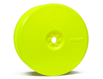 Satellite Front Wheel (TLR 22) | 10mm Hex | Yellow Pair