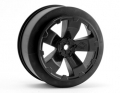 Sabertooth SC10 +3mm Wheel | Black | Pair