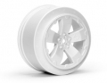 Sabertooth Losi-SCTE/22SCT Wheel | White | Pair