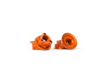 Triad M4 Light Wheel Nuts | Orange | 4pcs