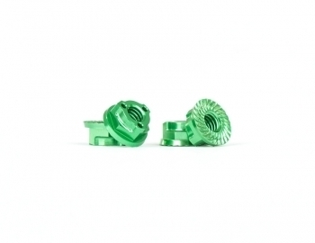 Triad M4 Light Wheel Nuts | Green | 4pcs