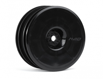 Satellite Front Wheel (B6, RB6) | 12mm Hex | Black Pair