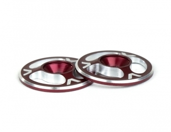 Triad Wing Buttons | Red
