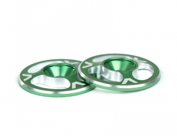 Triad Wing Buttons | Green