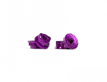 Triad M4 Light Wheel Nuts | Purple | 4pcs