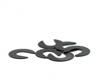 FastTune Camber Shims V2 | RC8B3.1, MBX8, XB8 | (6) 0.5mm