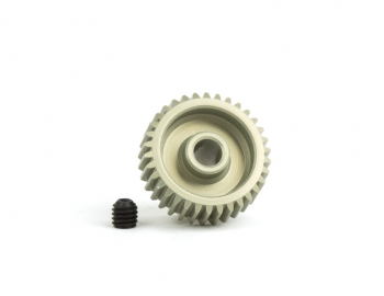 64P Aluminum Hard-Anodized Pinion | 28T