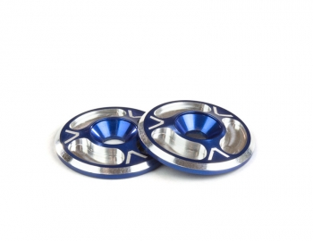 Triad Wing Buttons | HD | Blue