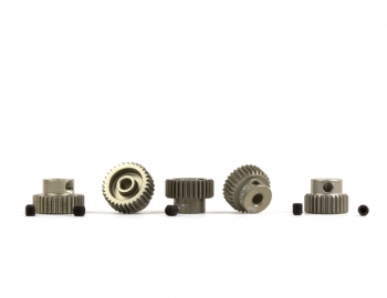 64P Aluminum Hard-Anodized Pinion | 5-Pack | 36-40
