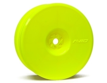 Satellite Front Wheel (B6, RB6) | 12mm Hex | Yellow Pair