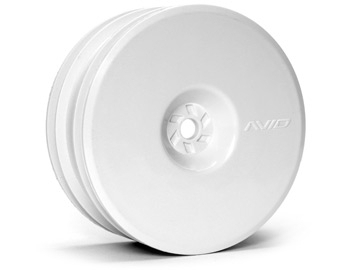 Satellite Front Wheel (B6, RB6) | 12mm Hex | White Pair