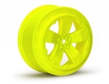 Sabertooth Losi-SCTE/22SCT Wheel | Yellow | Pair