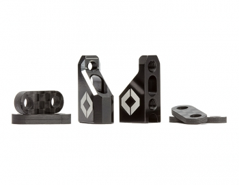 Aluminum Servo Mount Set w/ Spacers | Metric