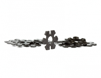 12mm Hex Track Width Spacers | Carbon | Set