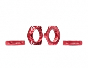 Triad 17mm Light Wheel Nuts | Red | 4pcs