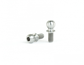 4.9x6mm Titanium Ball Stud | 2 pack
