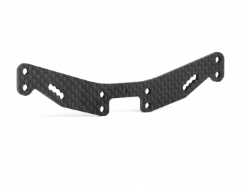 Xray T4 '16 Carbon Fiber Shock Tower | 2.0mm Hard | Rear