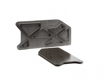 Hot Bodies D8T Carbon Arm Inserts | 2mm | Rear