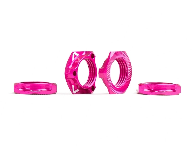 Triad 17mm Light Wheel Nuts | Pink | 4pcs Accessorie AV1811-PINK