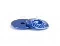 10th Wing Mount Buttons | Blue