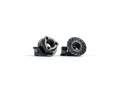 Triad M4 Light Wheel Nuts | Black | 4pcs