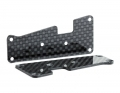 Hot Bodies D418 Carbon Arm Inserts | 1.5mm | Front