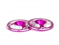 Triad Wing Buttons | Pink