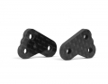 B6.2 / B6.2D Carbon Steering Block Arms +2