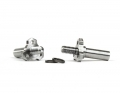 B6 / B6D Triad Steering Axles | Titanium