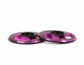 Triad Wing Buttons | Dual Black / Pink