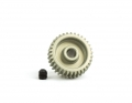 64P Aluminum Hard-Anodized Pinion | 24T