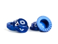Triad 17mm Capped Wheel Nuts | Blue | 4pcs