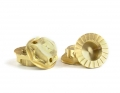 Triad 17mm Capped Wheel Nuts | Brass | 4pcs