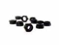 "4-40 x 3/16"" Black Aluminum Nut 