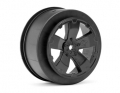 Sabertooth Losi-SCTE/22SCT Wheel | Black | Pair
