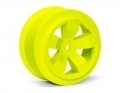Sabertooth SC10 +3mm Wheel | Yellow | Pair